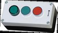"""Пост кнопочный трёхместный """"Старт-Стоп-Сигнал""""  (1 красная, 1 зелёная, 1 сигнал)"""