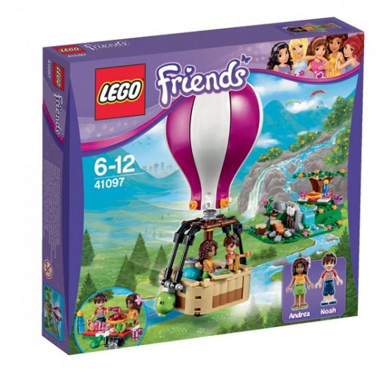 Lego Friends   Воздушный шар в Хартлейке 41097