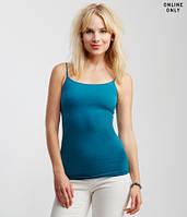 Топ спортивный женский синий на бретелях Aeropostale для йоги, для фитнеса