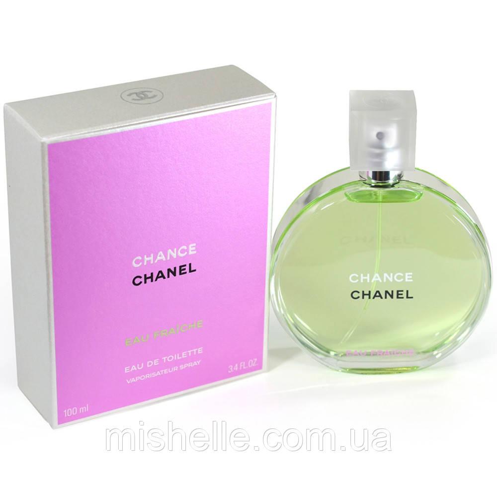 c0c2b27f2550 Женская парфюмированная вода 100 мл. Chanel Chance Eau Fraiche