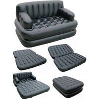 Надувной диван-трансформер 5 в 1 Bestway 75056 + насос