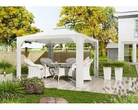 Балдахин Роял Белый, шатёр, тент, павильон, навес, мебель для сада, мебель для бассейна, шатер для ресторана