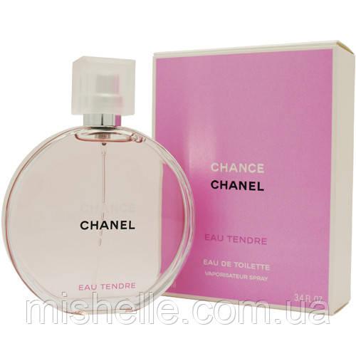 Женская парфюмированная вода 100 мл. (Шанель Шанс Тендер) Chanel Chance Eau Tendre реплика