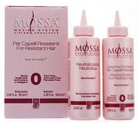 Набор для биозавивки натуральных волос Green Light Mossa № 0 90+ 100 мл