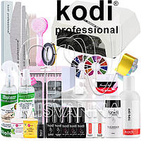 """Стартовый набор """"Kodi Professional LUX"""" с УФ лампой CCFL+LED на 36 Вт (Топ и База по 8 мл.)"""