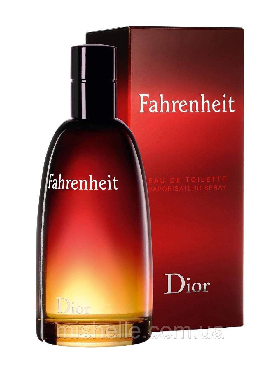 Мужская туалетная вода Christian Dior Fahrenheit (Кристиан Диор Фаренгейт) реплика