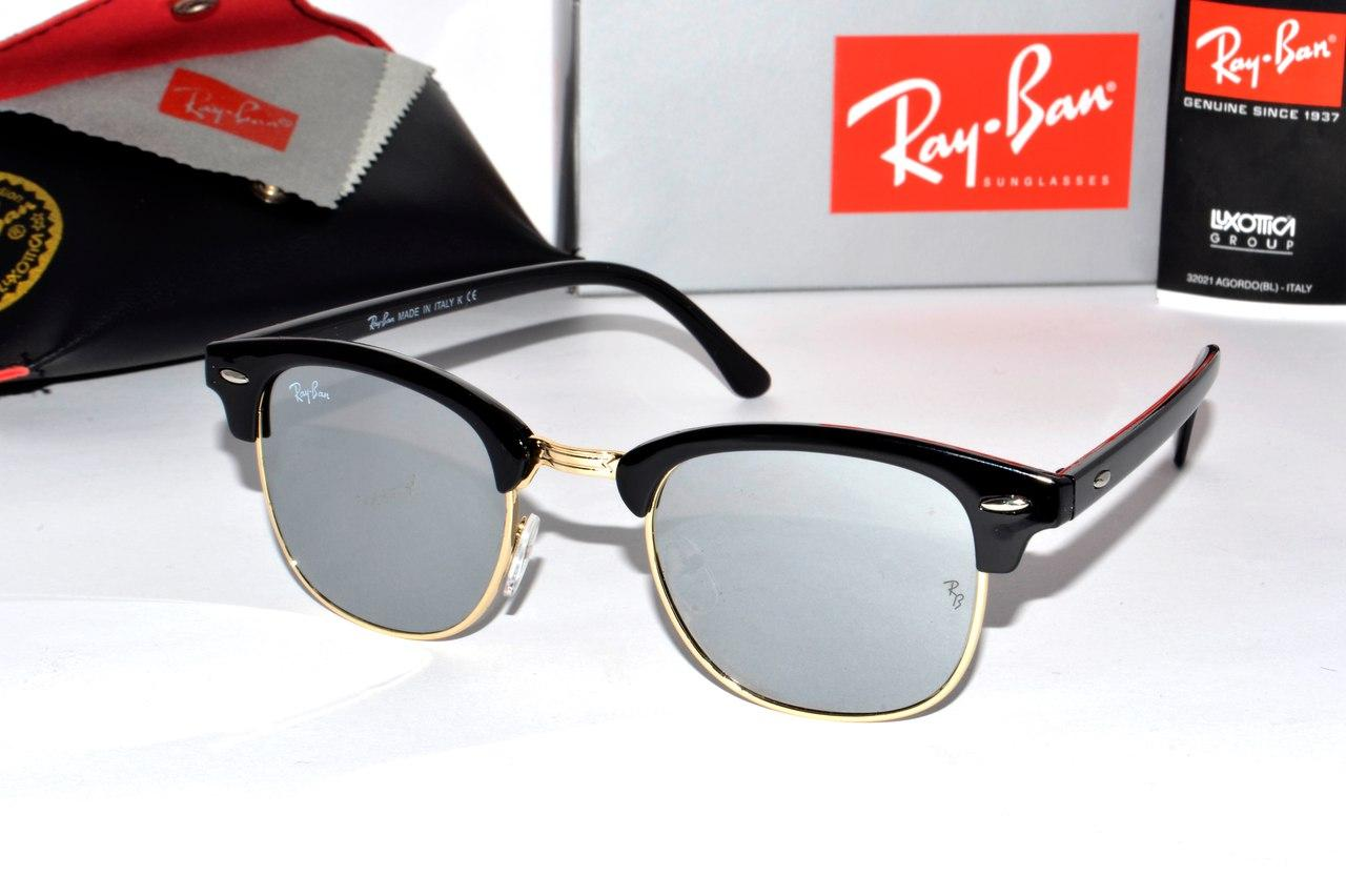 Очки солнцезащитные Ray Ban Clubmaster (Клабмастер) -