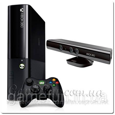 Xbox 360 E Slim 4Gb+Kinect+игра (прошит LT+ 3.0)