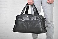 Мужская спортивная кожаная сумка