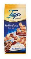 Вафельні трубочки Tago 160g какао (15шт/ящ)