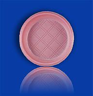 Тарелка одноразовая цветная 165мм. 50шт.