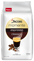 Кофе в зернах Jacobs Momente Espresso 1кг