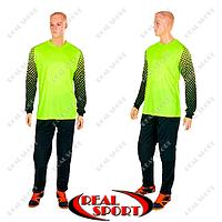 Форма футбольного вратаря First CO-018-G (PL, р-р S-XXL, салатовый)