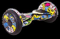 Гироскутер Smart Balance All Road - 10,5 дюймов Hip-Hop (графити)
