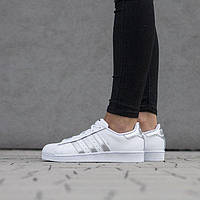"Adidas Originals Superstar ""White Silver"""