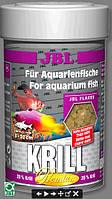 JBL Kril 250ml/40g  корм класса премиум в форме хлопьев содержащих криль для рыб обитающих в морской воде