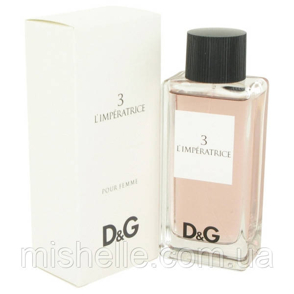 Женский парфюм вода Dolce & Gabbana 3 L`Imperatrice (Дольче  Габбана Императрица) без чехла!