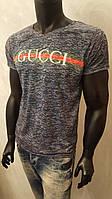 футболка мужская с принтом Gucci