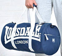 Мужская спортивная сумка LONSDALE синяя.