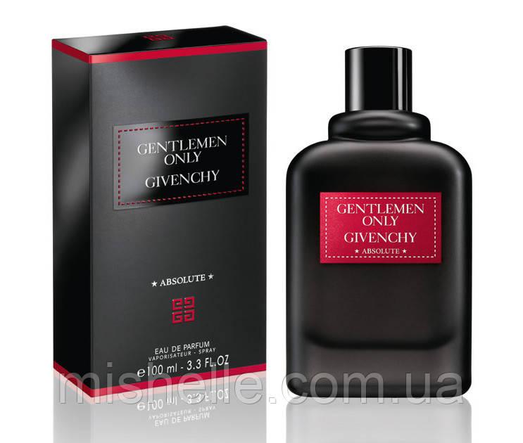 Парфюм для мужчин Givenchy Gentlemen Only Absolute ( Живанши Джентельмен Онли Абсолют) 100мл.