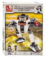 Конструктор SLUBAN М38-В 0336 В Звездный Десант, робот