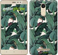"""Чехол на Xiaomi Redmi 4 Банановые листья """"3078c-417"""""""