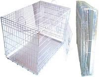 Клетка вольер для собак и котов Волк1   92х63х72 см