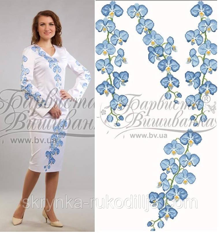 Заготовка плаття для вишивки бісером нитками на натуральній тканині -  СКРИНЬКА. Товари для вишивки ddbafc1282be1