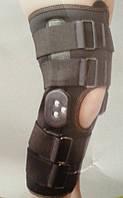 Ортез коленного сустава неопреновый шарнирный с регулируемым углом сгибания (закрытый) Алком (Украина)