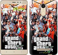"""Чехол на Xiaomi Redmi 4 Prime GTA 5. Collage v2 """"2815c-437"""""""