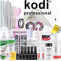 """Стартовый набор """"Kodi Professional LUX"""" с УФ лампой UV+LED SUN9S Plus на 36 Вт (Топ и База по 8 мл.)"""