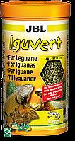 JBL Iguvert корм для игуан,ящериц и других травоядных рептилий  250ml/105g