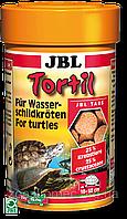 JBL Tortil 100ml/60g корм в форме таблеток для водных черепах