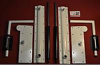 Механізм шафа-ліжка М4 навантаженням 1300-2300 Н Білий-Чорний-Коричневий, фото 1
