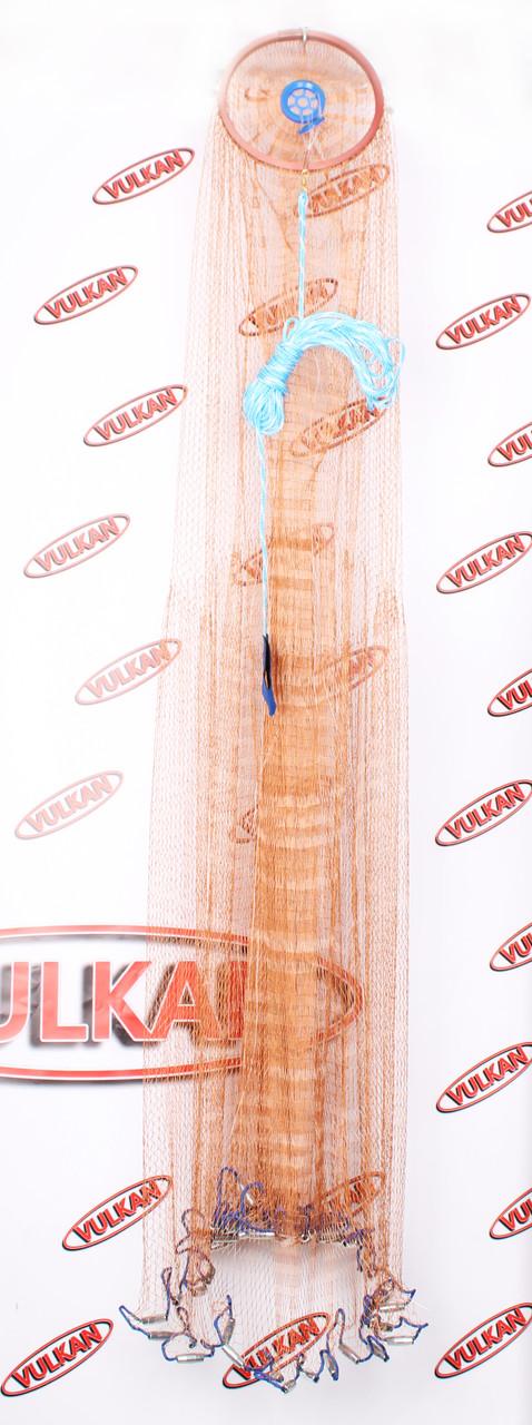 НОВИНКА!!! Кастинговая сеть из нитки 4м с большим кольцом