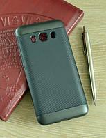 Мягкий черный чехол-накладка IPAKY Carbon для Samsung Galaxy J5 (2016)