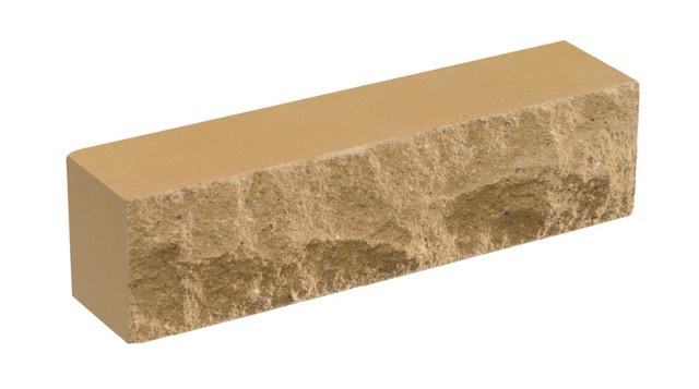 Кирпич облицовочный LAND BRICK Скала слоновая кость 250х55х65 мм
