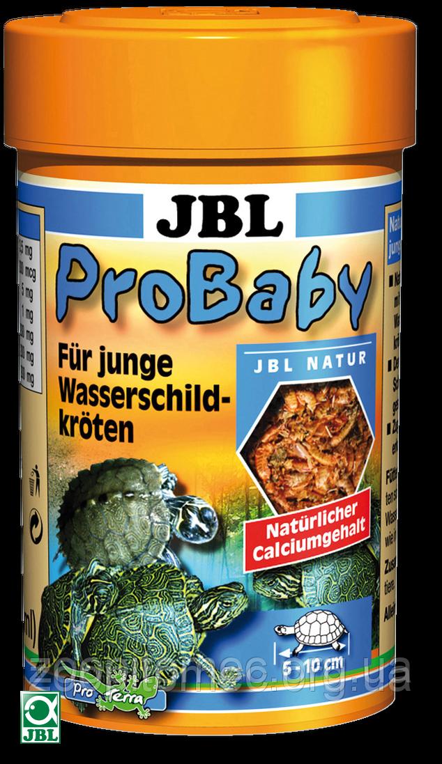 JBL ProBaby 100ml/13g мультивитаминный комплекс с кальцием для молодых черепах