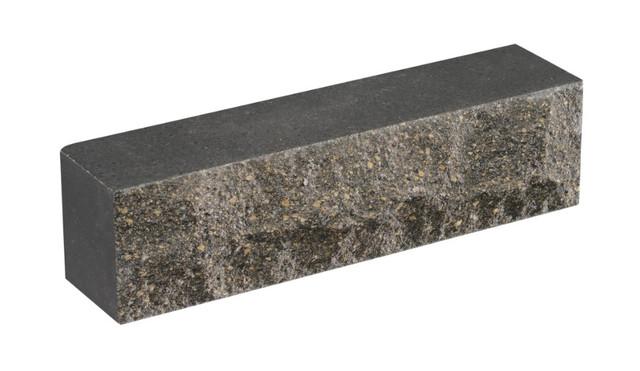 Кирпич облицовочный LAND BRICK Скала черный 250х55х65 мм
