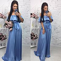 Шикарное платье в пол арт.145