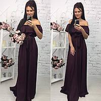 Шикарное платье в пол арт.148