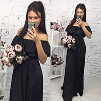 Шикарное платье в пол арт.149