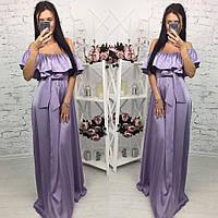 Шикарное платье в пол арт.150