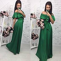 Шикарное платье в пол арт.152