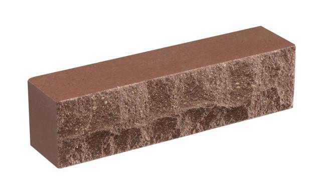 Кирпич облицовочный LAND BRICK Скала молочный шоколад 250х55х65 мм