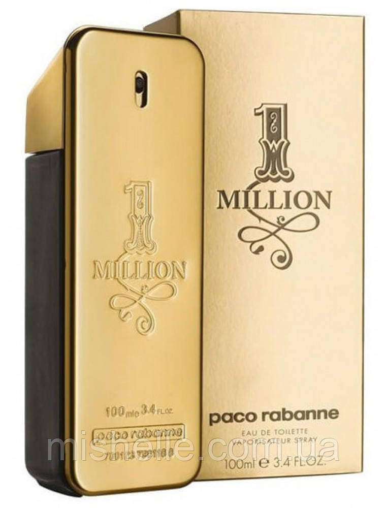 Мужской парфюм Paco Rabanne 1 Million (Пако Рабан (один)Ван Миллион) 100 мл.
