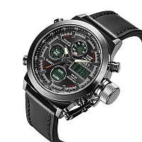Армейские наручные часы AMST 3003 black Japan movt