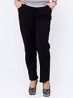 Черные брюки больших размеров 302