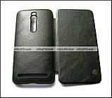 Черный чехол книжка Asus Zenfone 2 Ze551ML Z00AD Z00ADB, чехол Nillkin QIN Leather, фото 5