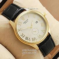 Часы Rolex 4207 Geneve Black/Gold/White